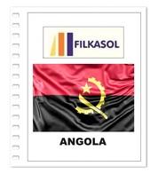 Suplemento Filkasol Angola 2018 + Filoestuches HAWID Transparentes - Pre-Impresas