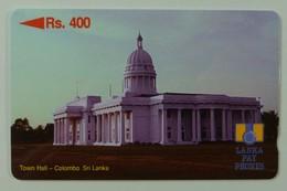 SRI LANKA - GPT - Rs 400 - Town Hall - Without Control - Sri Lanka (Ceylon)