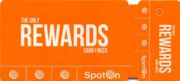 SpotOn Rewards Cards Used At Truck Stops With Casino Slot Machines Throughout Louisiana USA - Casino Cards