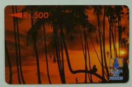 SRI LANKA - GPT - Rs 500 - Palm Trees At Sunset - Without Control - Sri Lanka (Ceylon)