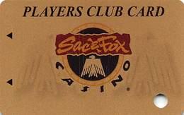 Sac & Fox Casinos - Powhattan, KS - BLANK Slot Card - Casino Cards