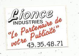 Autocollant ,marquage Industriel ,LIONCE INDUSTRIES , 72 ,BOULOIRE , Sarthe , Le Partenaire De Votre Publicité - Autocollants