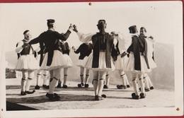 Griekenland Grece Greece Hellas Sirtaki Folk Folklore Dance Dans Volksdans Fotokaart Photocard - Grecia