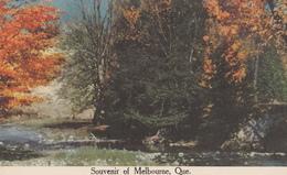 Souvenir Of Melbourne Québec Canada - Unused - 2 Scans - Quebec