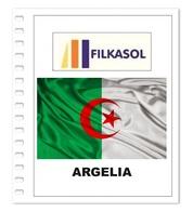 Suplemento Filkasol Argelia 2018 + Filoestuches HAWID Transparentes - Pre-Impresas