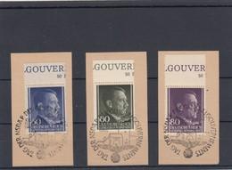 GG Generalgouvernement MiNr. 110-112, Gestempelt, Sonderstempel - Besetzungen 1938-45