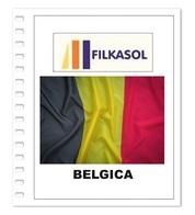 Suplemento Filkasol Belgica 2018 - Ilustrado Para Album 15 Anillas - Pre-Impresas