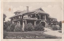 Sainte-Anne-de-Bellevue Québec - McGill University - Macdonald College - Teachers Residence - Agriculture - 2 Scans - Quebec