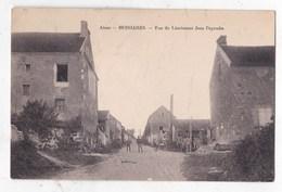 Carte Postale Bussiaires Rue Du Lieutenant Jean Peyroche - Autres Communes