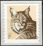 USA 2012  Mammals Bobcat Mi.No. 4853(I) 1v  MNH** - Felini
