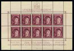 GENERALGOUVERNEMENT 1943 Nr 104 Postfrisch (111379) - Occupation 1938-45