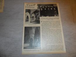 """Origineel Knipsel ( 1685 ) Uit Tijdschrift """" Ons Volk """"  1934 :    Nieuw Affligem  ( Hekelgem ) - Documentos Antiguos"""