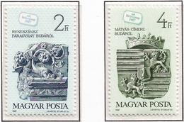 Hungria. Hungary. 1987. Mi 3918 / 19. Stamp Day. 60th Anniv. - Hungría
