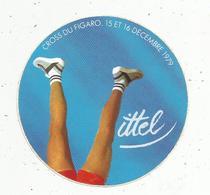 Autocollant , Sports , CROSS DU FIGARO ,  1979 , VITTEL - Autocollants