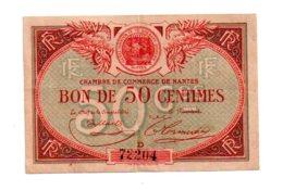 Nantes -50 Centimes-voir état - Handelskammer