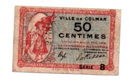 Colmar -50 Centimes-voir état - Handelskammer