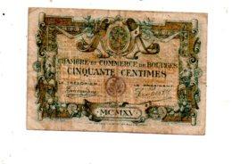 Bourges -50 Centimes-voir état - Handelskammer
