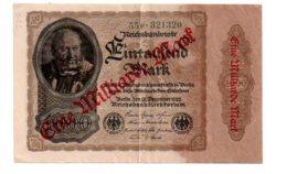Eine Milliarde Mark - 1922- 55F-voir état - 1918-1933: Weimarer Republik