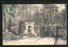 CPA Allogny, En Forêt-Fontaine Du Mercier - Non Classés