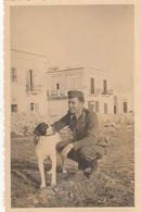 9269-FOTO DI MILITARE A BARI REGIONE SANTO SPIRITO INVERNO 1940 - War, Military