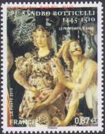 Autoadhésif(s) De France N°  492 ** Au Modèle 4518 - Oeuvre De Sandro Botticelli - Zéphyr Et La Nymphe Chloris - Francia