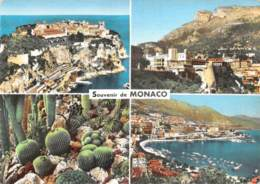 MONACO  SOUVENIR  QUATRE VUES - Monaco