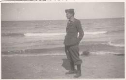 9270-FOTO DI MILITARE A BARI COMANDO DEL SETTORE NORD INVERNO 1940-41 - Guerre, Militaire