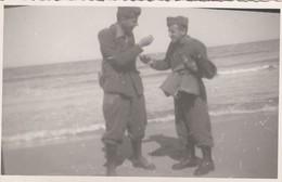 9271-FOTO DI MILITARE A BARI COMANDO DEL SETTORE NORD INVERNO 1940-41 - Guerra, Militari