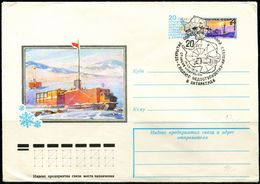 FP0698 Soviet 1978 Antarctic Inspection Cover South Pole FDC MNH - Europe (Other)