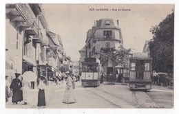 Carte Postale Aix Les Bains Rue De Genéve - Aix Les Bains