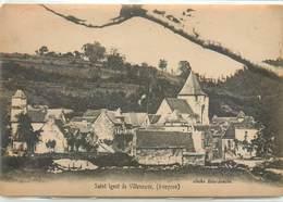 CPA 12 Aveyron Saint Igest De Villeneuve St  (léger Manque Haut Gauche Quelques Taches ) Non Circulée - Otros Municipios
