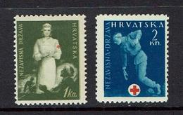 CROATIA...1940'S...Postal Tax - Croatie