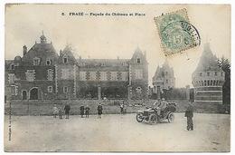 EURE ET LOIR  FRAZE - Façade Du Château Et Place - France