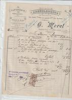 SAONE ET LOIRE ) CHAROLLES , Ameublement , G MOREL , Gande Rue - Petits Métiers