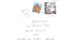 LETTERA X ITALYCON TIGRE SIBERIANA - Félins