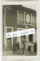 CARTE PHOTO - 93 - VAUJOURS - Le Bureau De Poste - Factrice Postiers, Très Rare Peut être Unique ? - Autres Communes