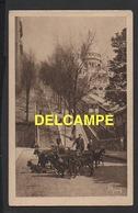 DD / 75 PARIS / LE CHEVRIER DE MONTMARTRE PRÈS DU FUNICULAIRE , ET LA BASILIQUE DU SACRÉ COEUR / ANIMÉE / 1939 - Petits Métiers à Paris