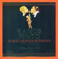 étiquette De Porto Superior Ramos Pinto - Portugal - 75 Cl - Otros