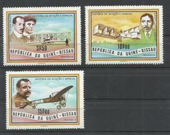 GUINEA BISSAU  YVERT AEREO  79/81     MNH  ** - Guinea-Bissau