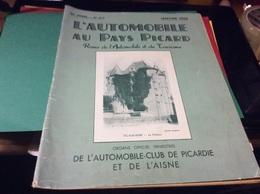 . Revue De L'automobile Picard  Année 1954 Panhard Dyna 54 Saint Didier Tracteur Farmall - Voitures De Tourisme
