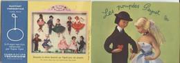 Themes Div-ref BB20- Petit Livret Publicitaire De 10 Pages Illustrées Sur Les Poupées De Peynet -chaque Page 11,5x8cms - Peynet