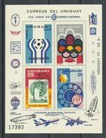 URUGUAY , H/B  URUGUAY 77    MNH  ** - Uruguay