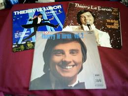 THIERRY LE LURON  ° COLLECTION DE 8 / 33 TOURS - Vollständige Sammlungen