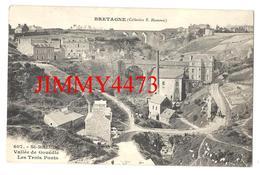 CPA - Vallée De Gouëdic - Les Trois Ponts - SAINT BRIEUC 22 Côtes Du Nord - Coll. E. Hamonic N°607 - Recto-Verso - Saint-Brieuc