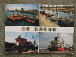 LE HAVRE DOCK VIEWS - Cargos