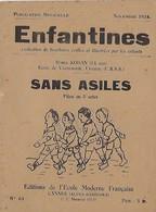 Enfantines N°64 Sans Asiles Boris Kohan (14 Ans) Ecole De Voznesensk, Ukraine (U.R.S.S.) - Livres, BD, Revues