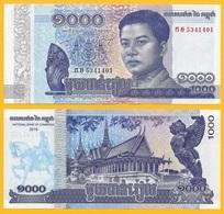 Cambodia 1000 Riels P-new 2016 UNC - Cambodia
