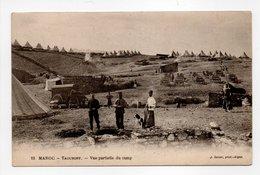 - CPA TAOURIRT (Maroc) - Vue Partielle Du Camp - Photo J. Geiser N° 12 - - Autres