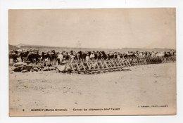 - CPA GUERCIF (Maroc) - Convoi De Chameaux Pour L'avant - Photo J. GEISER N° 6 - - Autres