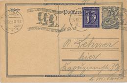 Postreiter Ortskarte Aachen 4. TP - Alemania